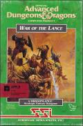 War of the Lance Apple II Front Cover