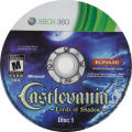 Castlevania: Lords of Shadow Xbox 360 Media Disc 1/2