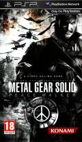 Metal Gear Solid: Peace Walker PSP Front Cover