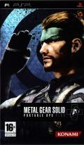 Metal Gear Solid: Portable Ops Plus PSP Front Cover
