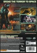 Dead Space 2 (Collector's Edition) Xbox 360 Other Keep Case - Back Cover