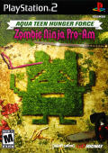 Aqua Teen Hunger Force: Zombie Ninja Pro-Am PlayStation 2 Front Cover