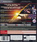 Mass Effect 2 PlayStation 3 Back Cover