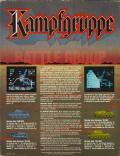 Kampfgruppe Commodore 64 Back Cover