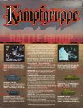 Kampfgruppe DOS Back Cover