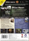 Tom Clancy's Ghost Recon (Gold Edition) Windows Back Cover