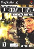 Delta Force: Black Hawk Down - Team Sabre PlayStation 2 Front Cover