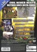 Delta Force: Black Hawk Down - Team Sabre PlayStation 2 Back Cover