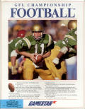 GFL Championship Football DOS Front Cover