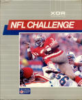 NFL Challenge DOS Front Cover