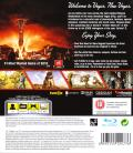 Fallout: New Vegas PlayStation 3 Back Cover