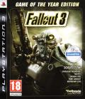Fallout 3: Game of the Year Edition PlayStation 3 Front Cover