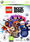 LEGO Rock Band Xbox 360 Front Cover