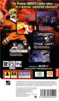 Naruto: Ultimate Ninja Heroes 2 - The Phantom Fortress PSP Back Cover