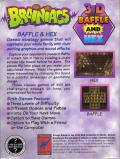 Brainiacs: 3-D Baffle and Hex Windows 3.x Back Cover