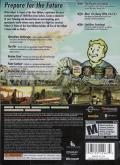 Fallout 3 (Game of the Year Edition) Xbox 360 Back Cover