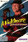 A Nightmare on Elm Street Commodore 64 Front Cover