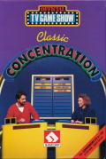 Classic Concentration Commodore 64 Front Cover