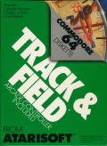 Track & Field Commodore 64 Front Cover
