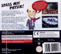Professor Heinz Wolff's Gravity Nintendo DS Back Cover