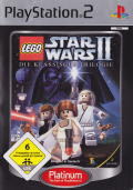 LEGO Star Wars II: The Original Trilogy PlayStation 2 Front Cover