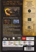 The Lord of the Rings: The Battle for Middle Earth II (Collector's Edition) Windows Back Cover