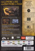 The Lord of the Rings: The Battle for Middle Earth II (Collector's Edition) Windows Other Keep Case - Back