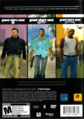 Grand Theft Auto: The Trilogy Windows Back Cover