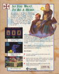 Hero's Quest: So You Want To Be A Hero Amiga Back Cover