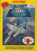 F-15 Strike Eagle Apple II Front Cover