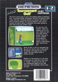 Arnold Palmer Tournament Golf Genesis Back Cover