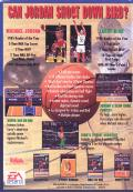 Jordan vs Bird: One on One Genesis Back Cover