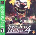 Twisted Metal 4 PlayStation Front Cover