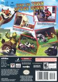 Over the Hedge GameCube Back Cover