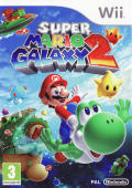 Super Mario Galaxy 2 Wii Front Cover