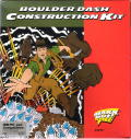 Boulder Dash Construction Kit DOS Front Cover