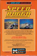 Speed Buggy Atari ST Back Cover