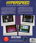 Hyperspeed DOS Back Cover