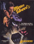 Mean Streets Commodore 64 Front Cover