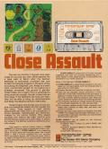 Close Assault Apple II Back Cover