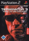 Terminator 3: Rise of the Machines PlayStation 2 Front Cover