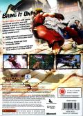Street Fighter IV (Collector's Edition) Xbox 360 Other Keep Case - Back
