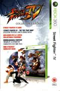 Street Fighter IV (Collector's Edition) Xbox 360 Other Box - Left side
