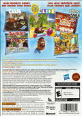 Hasbro Family Game Night 3 Xbox 360 Back Cover