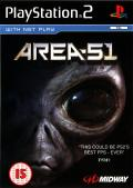 Area-51 PlayStation 2 Front Cover