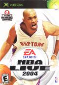 NBA Live 2004 Xbox Front Cover