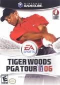 Tiger Woods PGA Tour 06 GameCube Front Cover