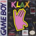 Klax Game Boy Front Cover