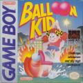 Balloon Kid Game Boy Front Cover