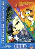 The Disney Collection: Quackshot Starring Donald Duck & Castle of Illusion Starring Mickey Mouse Genesis Front Cover